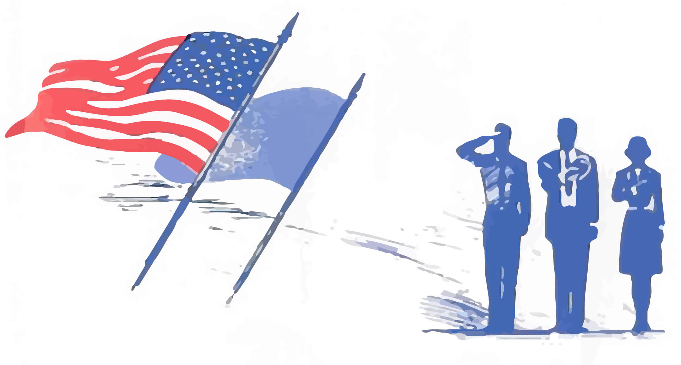 saluting-the-flag
